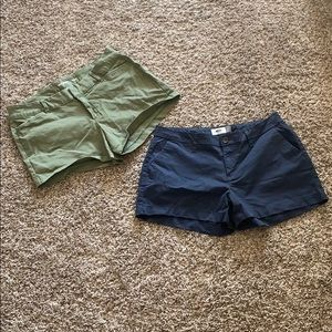 Two pairs of shorts for $15!!!